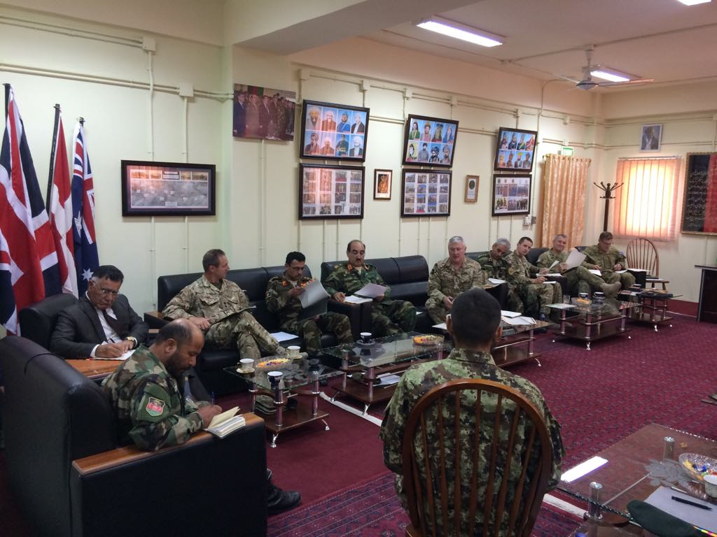 #Australia is committed to supporting #Afghanistan by providing training opportunities for ANA officer cadets at the Royal Military College – Duntroon. A selection board was recently held at the ANA Officer Academy to select two cadets to attend Duntroon in 2019.