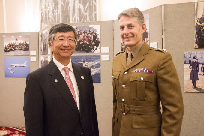 The Commanding Officer recently met with the Japanese Ambassador to celebrate Japanese Self Defence Forces Day. This event was an excellent way to build relationships prior to the HAC's deployment to Japan in October to train with the Japanese Self Defence Force. #TravelTuesday Photo