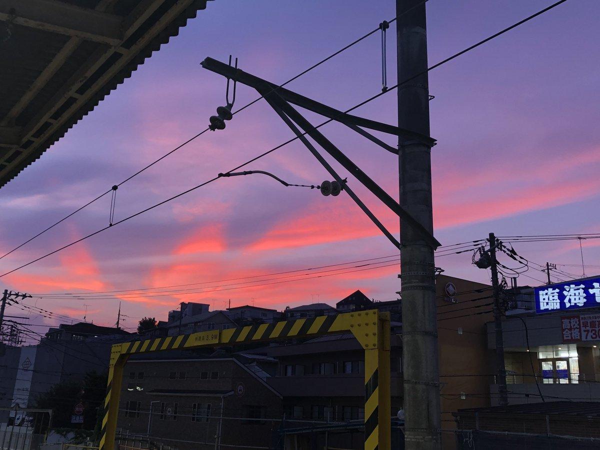 夕焼けキレイ✨ #イマソラ #空 #sky  #夕焼け #夕焼け空  #sunesets #sunset #sunsetlovers #sunrise_sunset_aroundworld #sunset_pics #dusk #twilight #sunsetting #sundown https://t.co/RYeJiRz17X