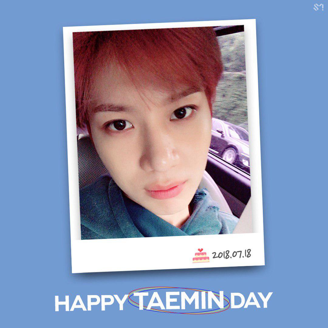 #HappyTAEMINDay ���� #180718 #SHINee #샤이니 #TAEMIN #태민 https://t.co/oDvVCOV6SQ