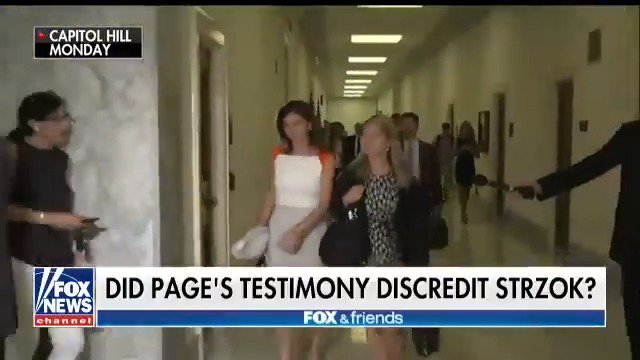 Anti-Trump ex-FBI lawyer Lisa Page questioned by Congress for a second day