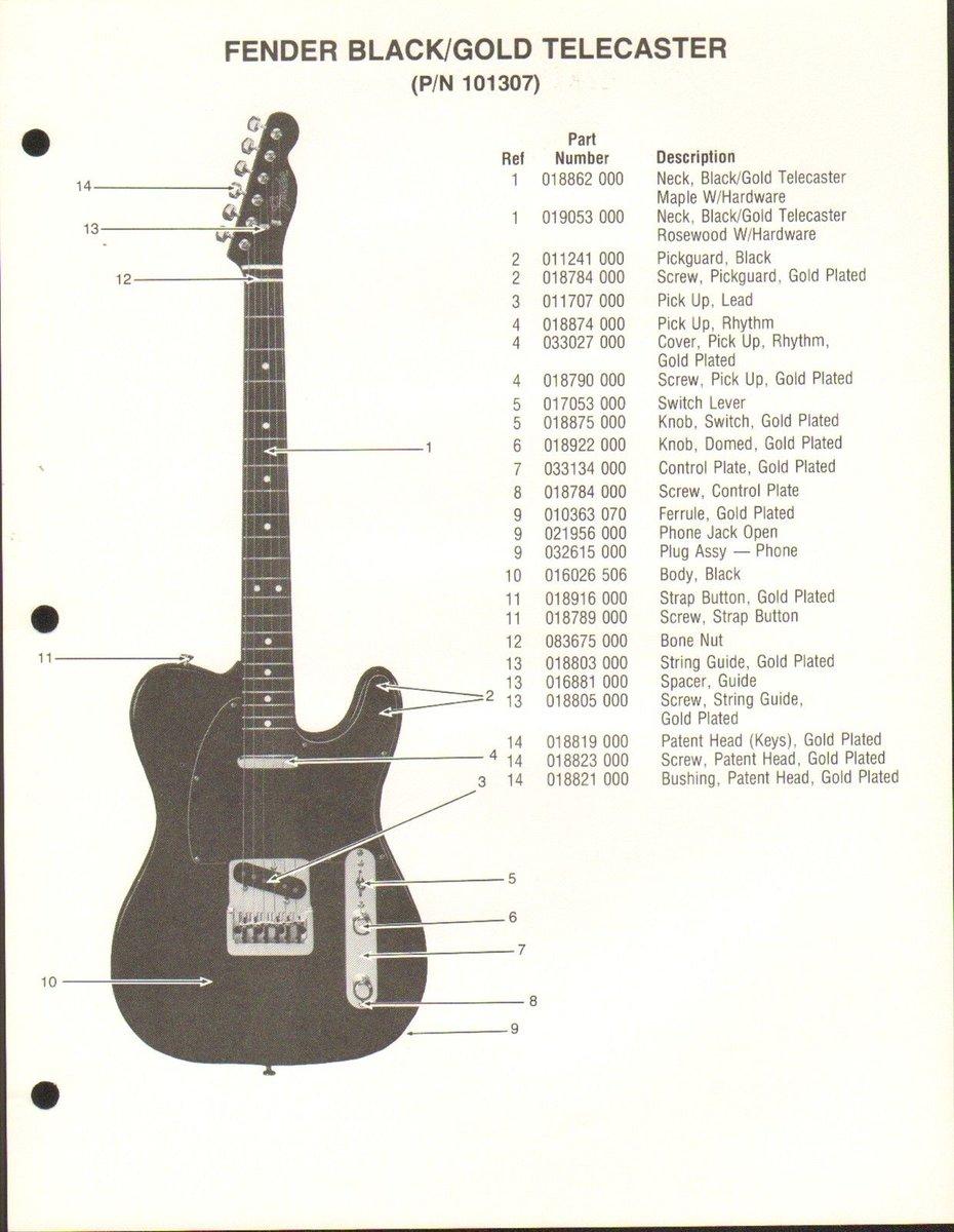 Telecaster Parts List Fender Jaguar Guitar Wiring Diagram Hecho Crave Guitars 930x1200