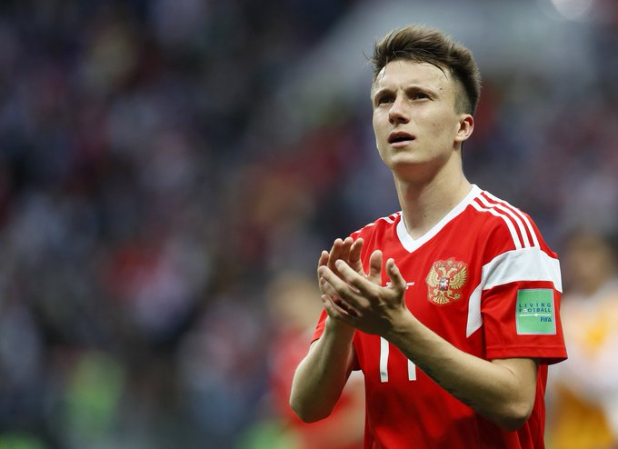 BREAKING: Chelsea have agreed a fee with CSKA for the transfer of 22 year old Russian midfielder; Aleksandr Golovin. He rejected advances from Monaco & will soon sign for the Blues! @MatteoPedrosi Fotoğraf