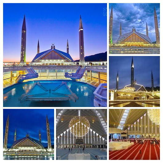 Faisal Mosque is the mosque in Islamabad, Pakistan. Located on the foothills of Margalla Hills in Islamabad, the mosque features a contemporary design consisting of eight sides of concrete shell.The mosque is a major tourist attraction. #PakistanAtAGlance<br>http://pic.twitter.com/CQ6g7pytAI