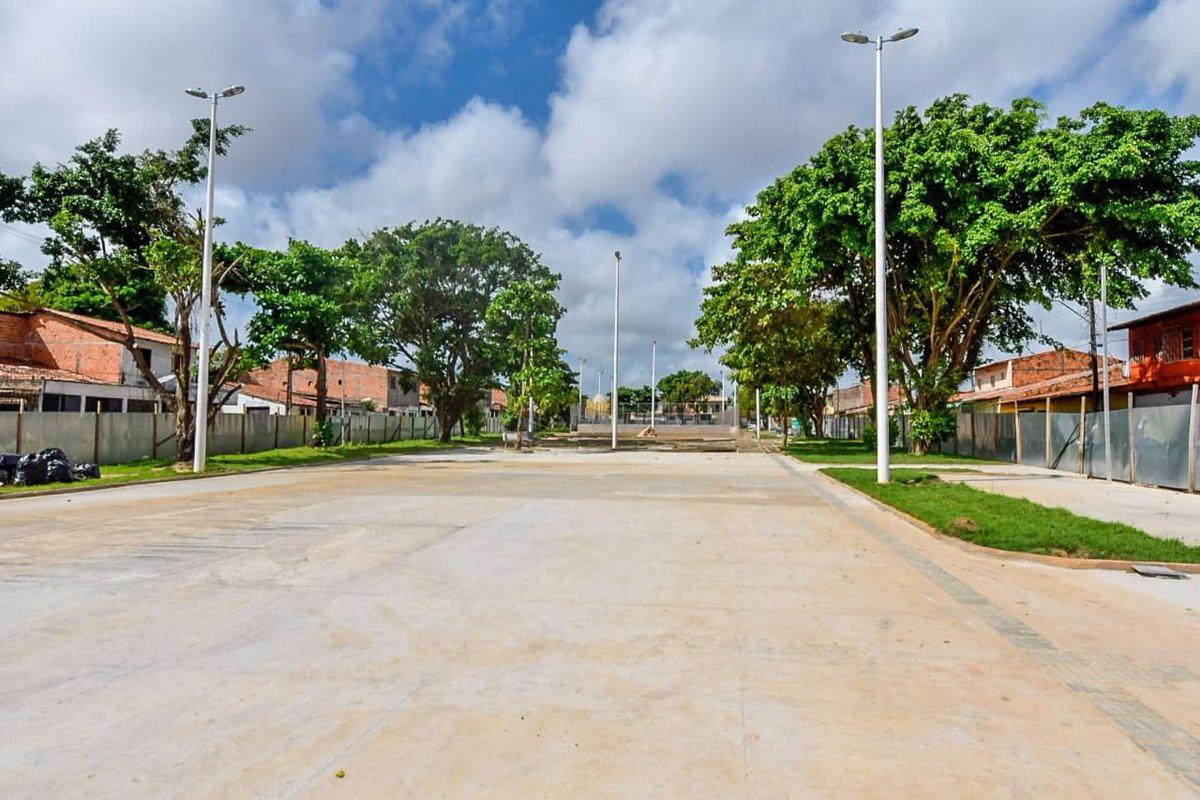 Agora fiz vistoria de obras da Agência Metropolitana em São Luís. Mais infraestrutura urbana para os cidadãos, pois o nosso governo é amigo das cidades