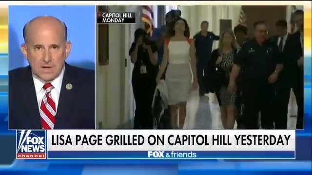 .@replouiegohmert on what he learned during Lisa Page's closed-door meeting on Capitol Hill https://t.co/6YNUtoqRuS
