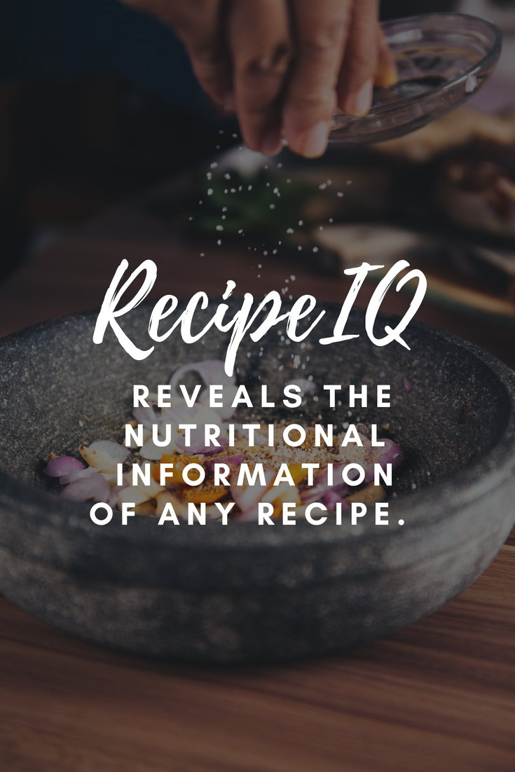Recipeiq On Twitter Built With Home Cooking Enthusiasts In