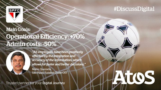 Today´s digital revolution is about much more than customer engagement... #DiscussDigital #SAPH...