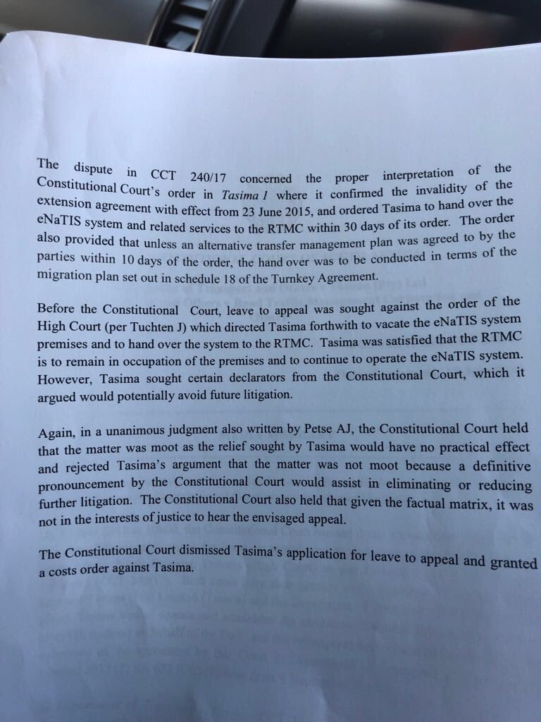application for leave to appeal high court