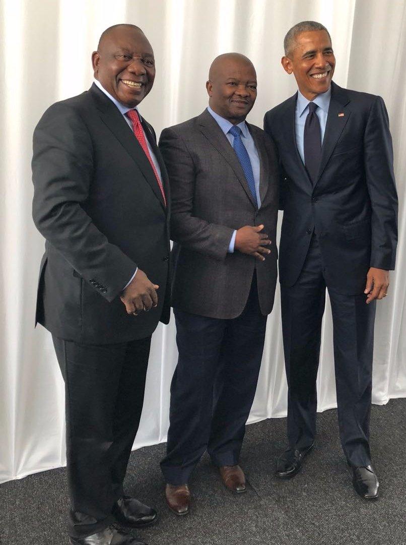 Bantu Holomisa's photo on #MandelaLecture
