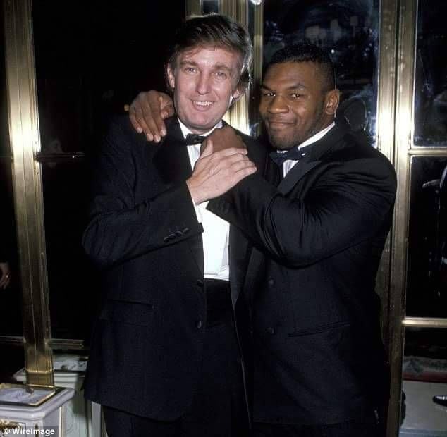 Today in history: July 17, 1998, Mike &quot;Iron&quot; Tyson hired Donald Trump to be his personal financial advisor  Your employee today could be your Head of State tomorrow literally, be polite   #TrumpPutinSummit #TrumpUKVisit #TrumpRussia #DonaldTrump #TuesdayThoughts #PrimeDay <br>http://pic.twitter.com/WFSQN8DmPZ