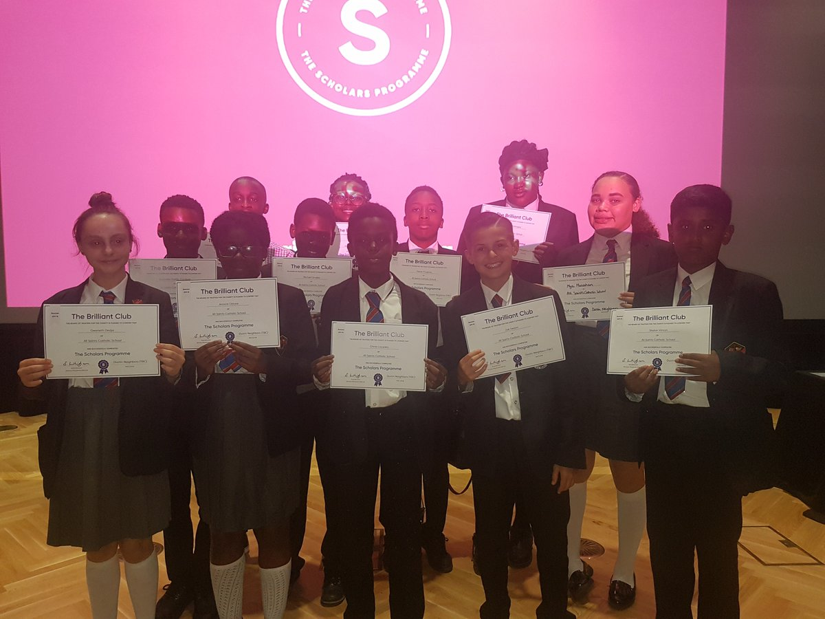 test Twitter Media - Our YR8 pupils and parents met @KingsCollegeLon for their @BrilliantClub graduation ceremony They all submitted their final assignments on time with amazing comments from their tutor - they were very proud of themselves as are their parents and teachers! @BDPost #Scholars #aspire https://t.co/yBT39A1AFC