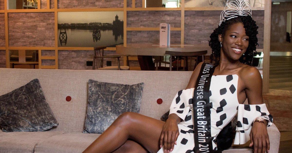 흑인 여성이 사상 최초로 미스 유니버스 영국 대표가 됐다 👸🏾👑 https://t.co/55lLzlc7Ke