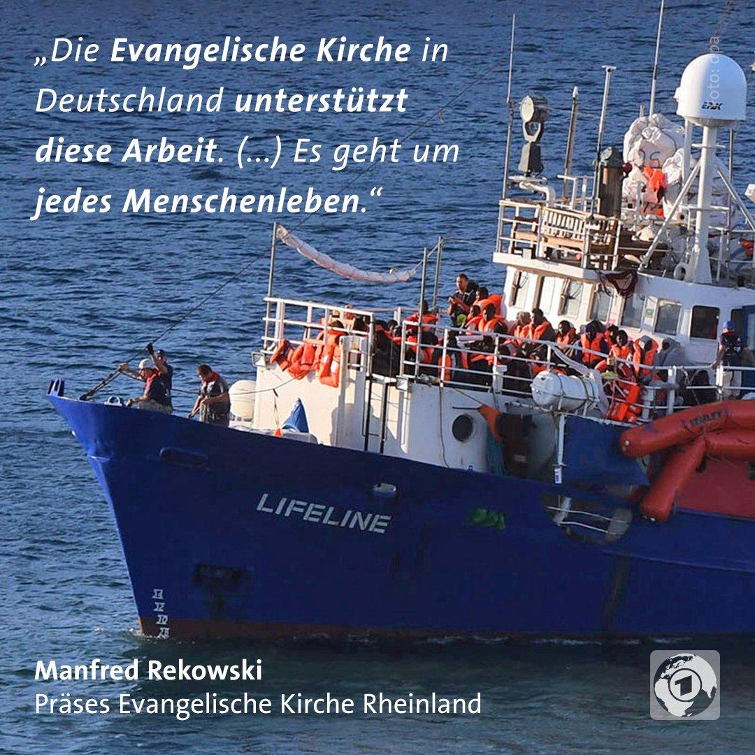 Die Evangelische Kirche verteidigt die private #Seenotrettung im Mittelmeer. Das hat der Migrationsexperte der @EKD bei einem Besuch in Malta klargestellt.