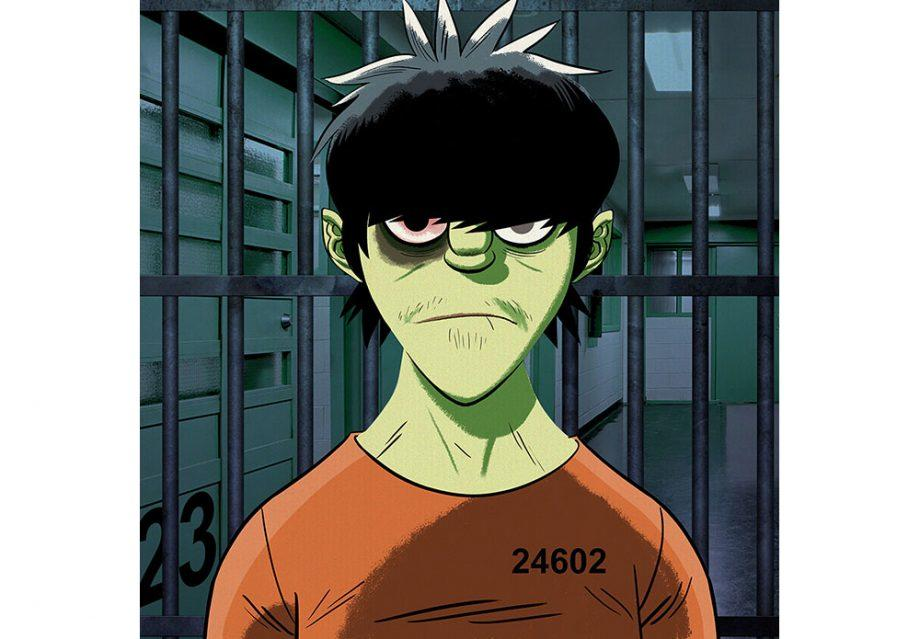 . @Gorillaz Exclusive: Murdoc hits back at 2D in prison interview https://t.co/DFejxOfhS2 https://t.co/4f0XG5K6h3