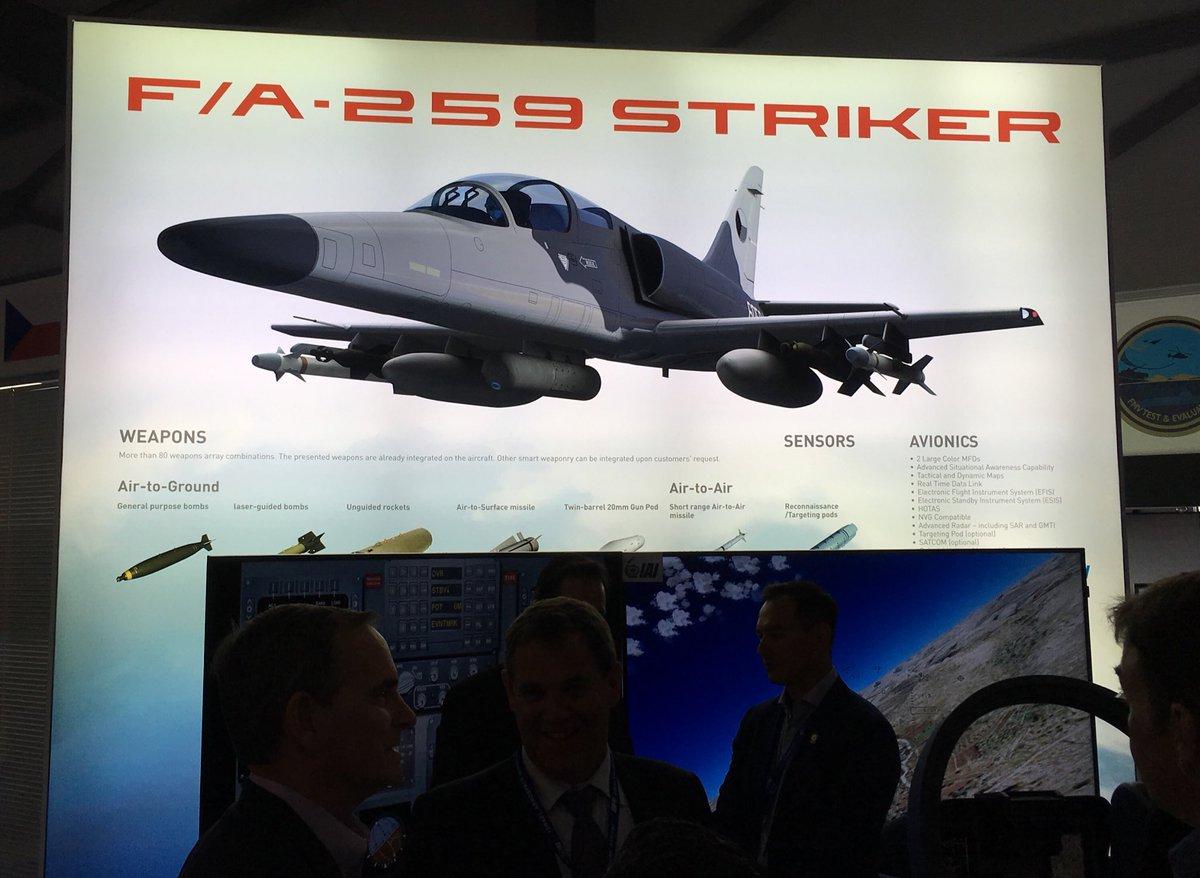 شركة Aero Vodochody التشيكيه وشركة IAI الاسرائيليه ستطوران نسخه خاصه من L-159 لصالح الولايات المتحده  DiTnJ3MXcAA30aJ