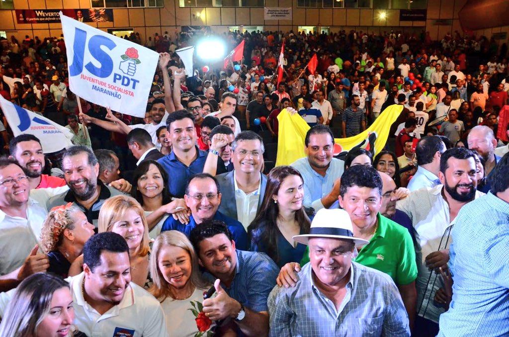 Estive no grande Ato Político do PDT, de apresentação do pré-candidato ao Senado Weverton, que tem o nosso apoio. Contamos com a honrosa presença do amigo Ciro Gomes.