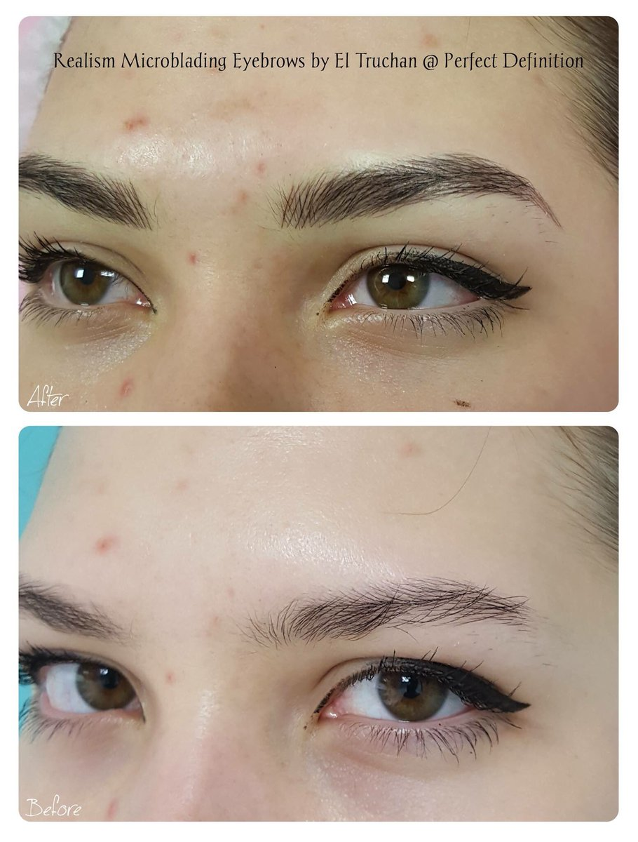 Perfect Definition On Twitter Realism Microblading Eyebrows By El