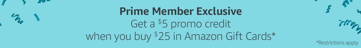 Safest Amazon Prime Day deal: Buy a $25 gift card, get a bonus $5 account credit using code GCPRIME18. https://t.co/CZoU9obdOa