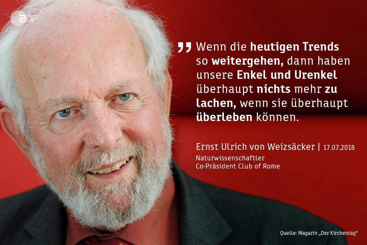 Der Naturwissenschaftler Ernst Ulrich von Weizsäcker hat ein radikales Umdenken der #Weltwirtschaft angemahnt.