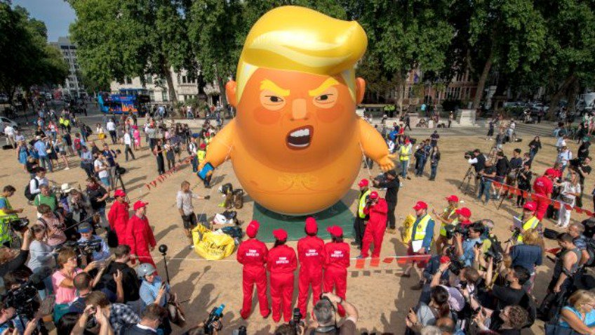 The Trump baby blimp is coming to America https://t.co/CLcIIwGoTn