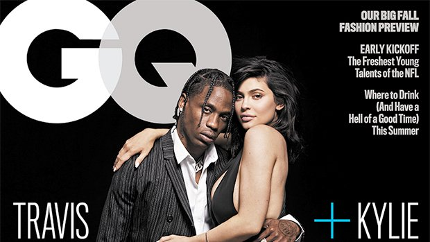 Kylie Jenner & Travis Scott are 🔥 on the cover of 'GQ' -- their first magazine cover as a couple! https://t.co/CthYBHyjeK