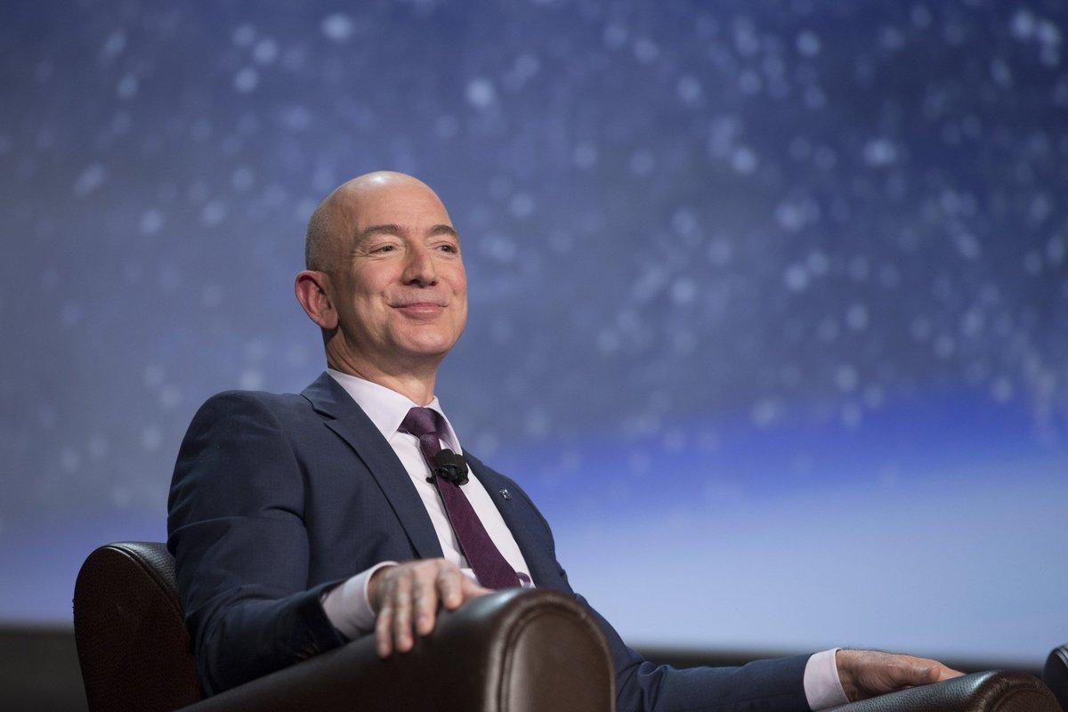 アマゾン・プライムデー、ベゾスCEOの純資産が16兆8000億円超え https://t.co/IBTFtGzQ9K