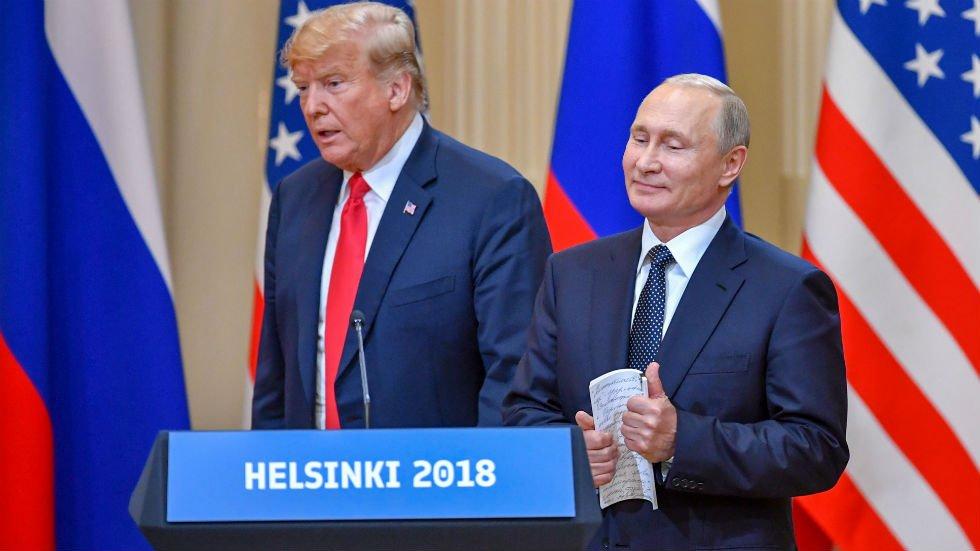 Russia celebrates after Trump-Putin meeting https://t.co/krr2kdwvHX