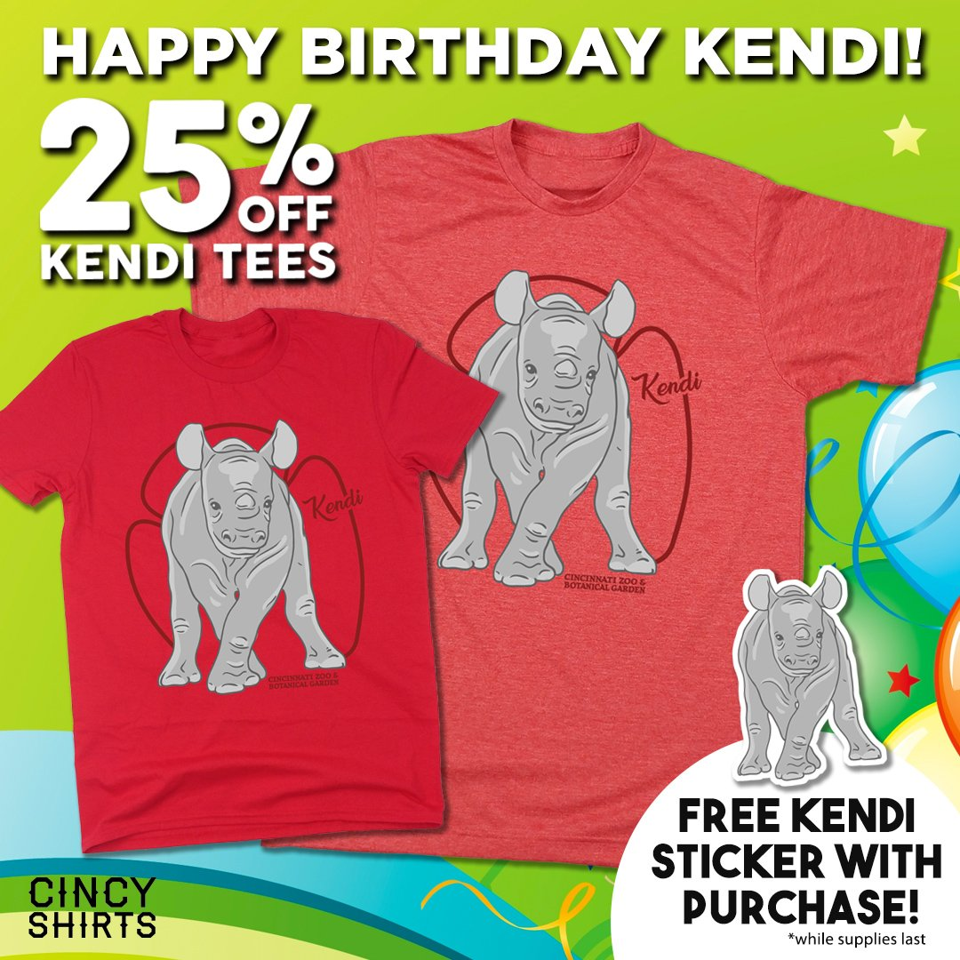 Day Long With 25 Off Our Kendi Tee And A FREE Sticker Each Purchase In Stores Online Bitly ZooBabyKendi Pictwitter Uzj6e68s4K