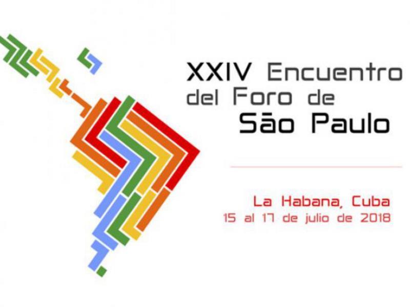 Llegando al Centro de Convenciones de La Habana a participar en la clausura del XXIV Foro de São Paulo. Encuentro que reafirma las luchas antiimperialistas y  la unidad latinoamericana en defensa de la soberanía y la autodeterminación de nuestros pueblos. ¡Viva la Patria Grande!