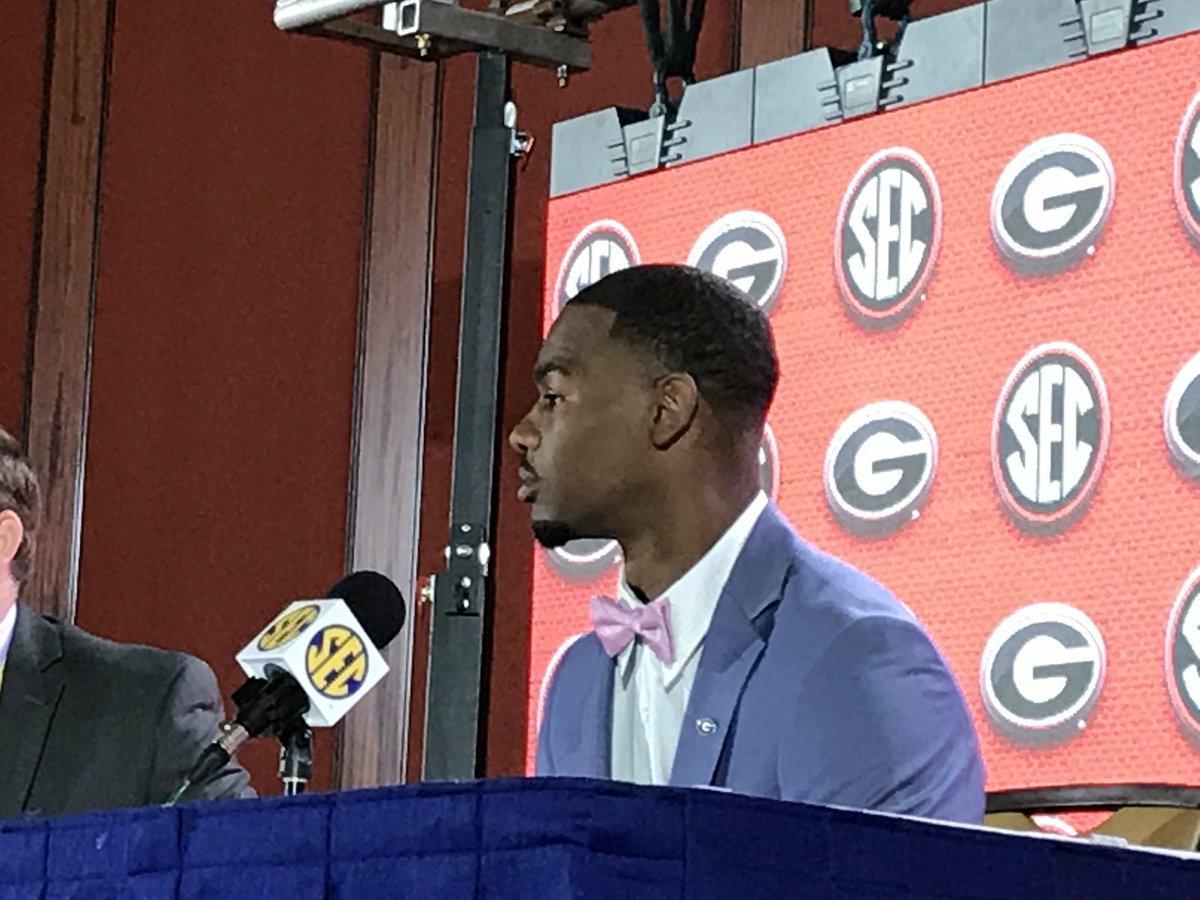 "UGA WR Terry Godwin on the mindset this year: ""Not looking back at last season and just focusing on the future."" <br>http://pic.twitter.com/VG3cYuhUxp"
