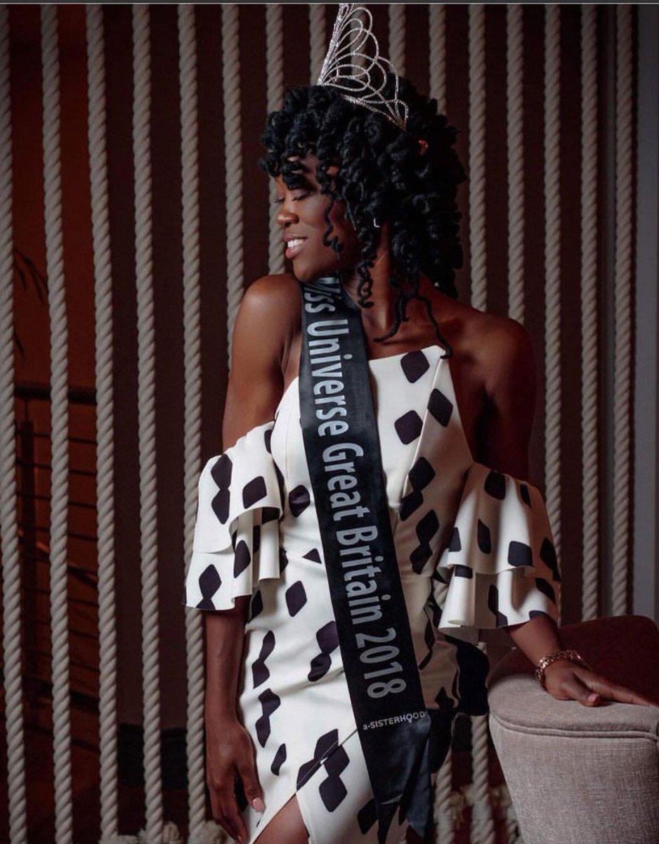 Reino Unido elege pela 1ª vez uma miss negra https://t.co/jVMtsSY2pe #G1