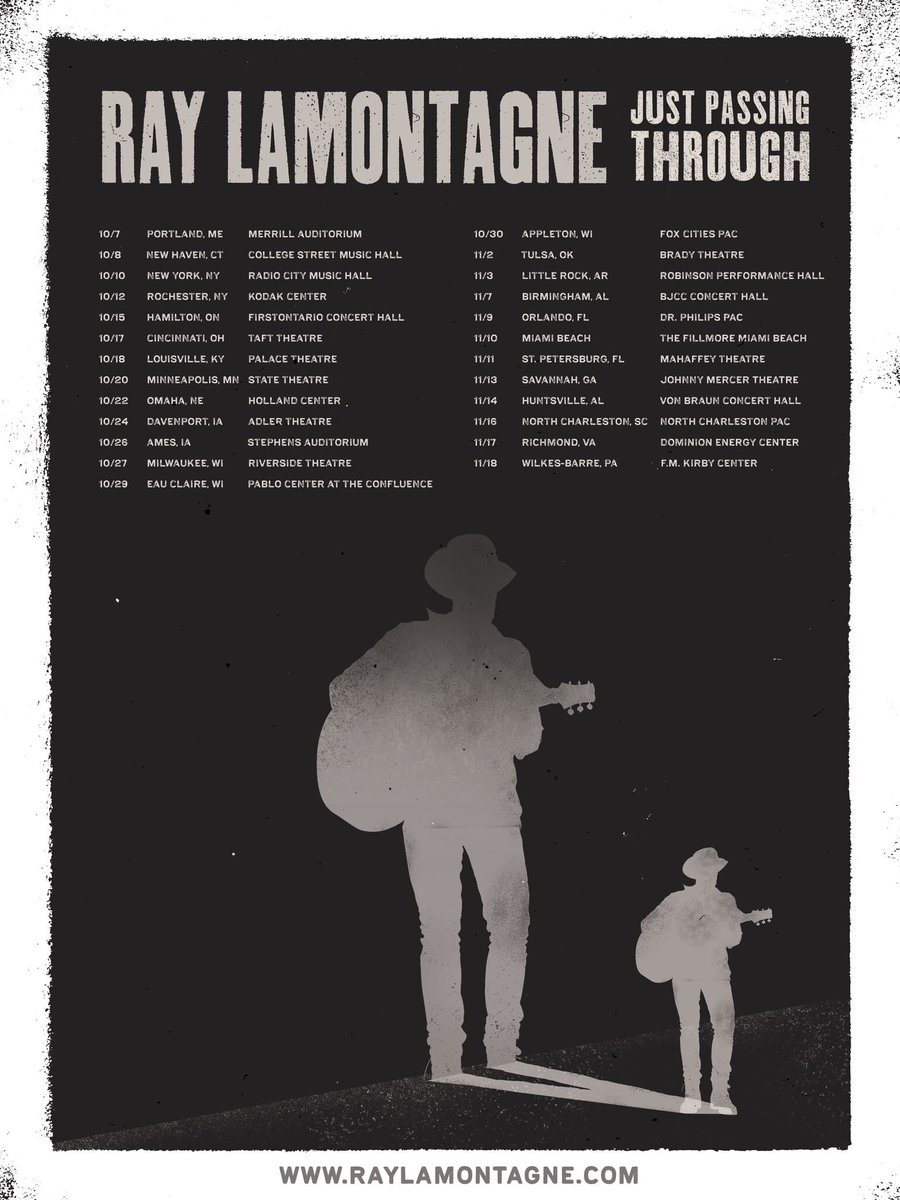 3be6557a14 Presale starts tomorrow at 10AM with code SIMPLETHING at  http   raylamontagne.com .pic.twitter.com i7gqF3U7iC