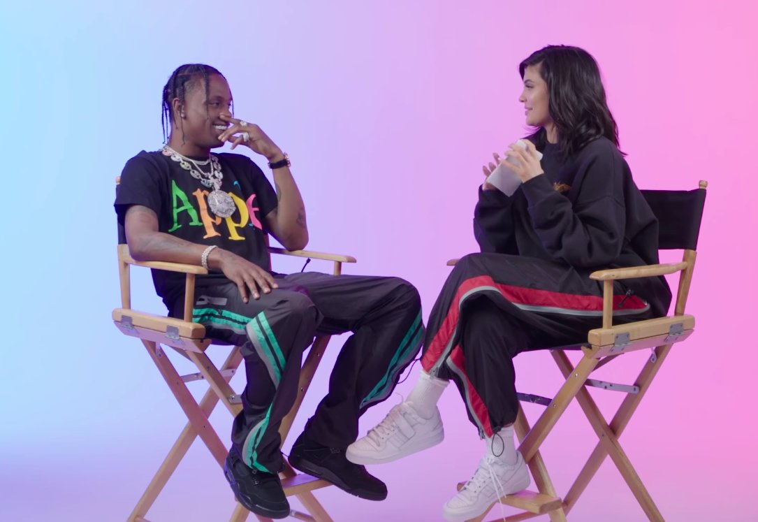Watch Travis Scott and Kylie Jenner play a game of '23 Questions' for 'GQ' https://t.co/J8CylIczPY  https://t.co/D62IK3Xqo0