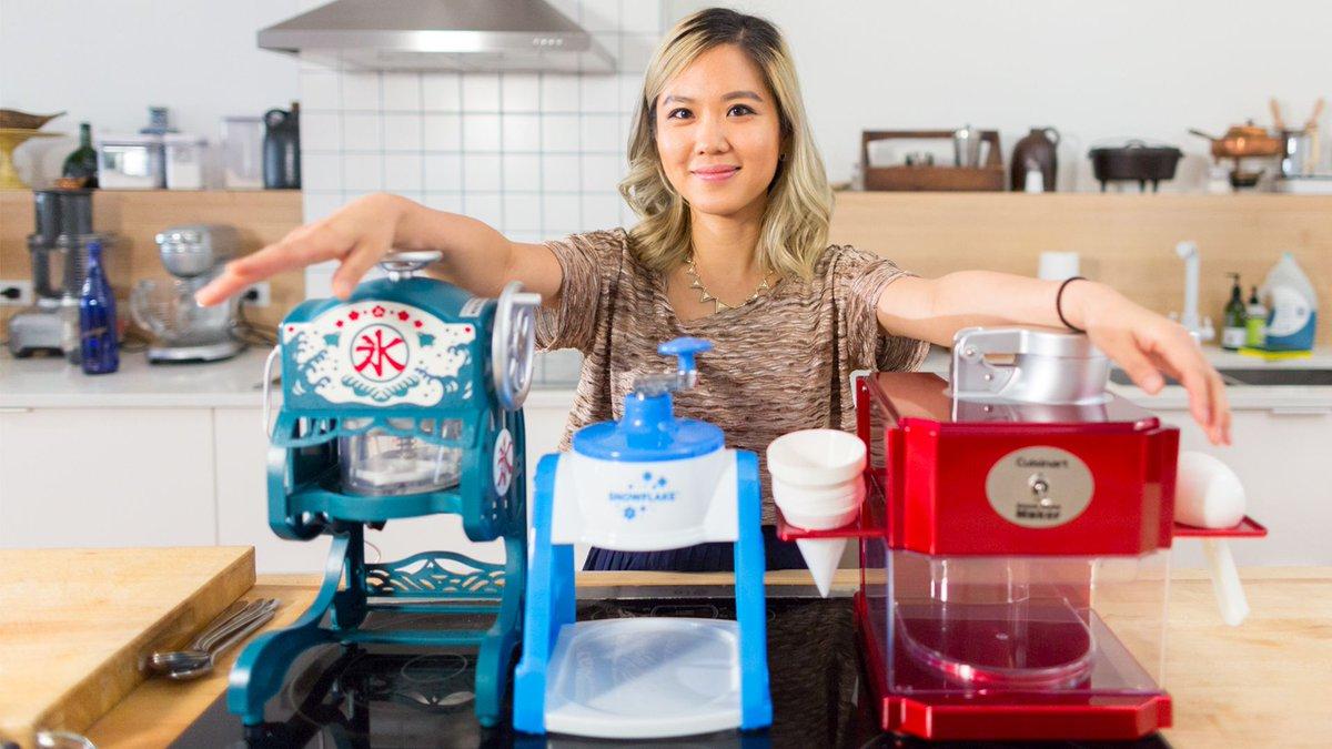 Watch: Do you need a $120 shaved ice machine to make bingsu? https://t.co/4GM1Ft8Zs0