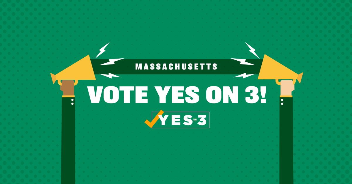Have you pledged to vote #YesOn3 yet? We're building a coalition of #transgender people, their families & thousands of faith leaders, safety advocates, businesses & others who are standing up for #transequality. Join us! Take the pledge today: https://t.co/U0S6d33N9K #mapoli