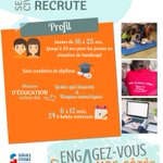 Image for the Tweet beginning: Prévention MAIF #recrute des jeunes