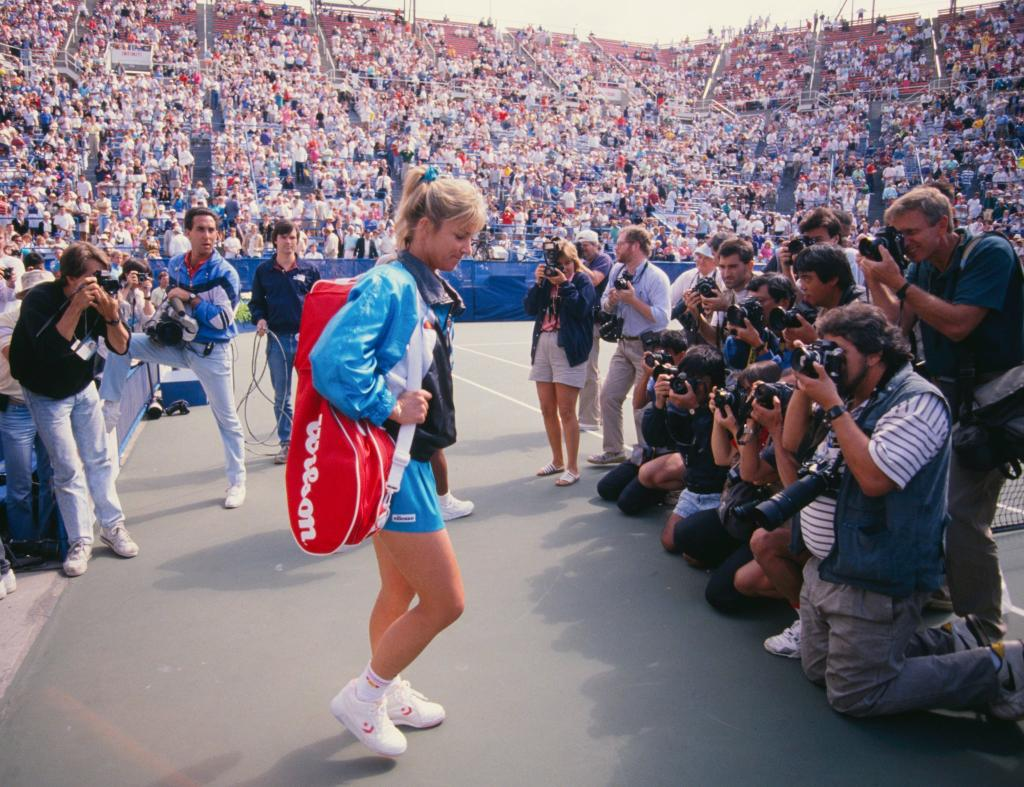 #TuesdayThoughts:  'If you're a champion, you have to have it in your heart...'  @ChrissieEvert  #USOpen