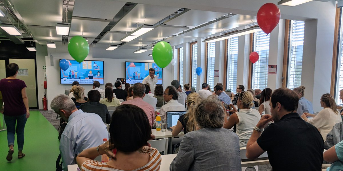 Happy Birthday, Google #Zukunftswerkstatt München 🥳 Seit genau einem Jahr bieten wir dort kostenlose Vor-Ort-Schulungen zu digitalen Themen an. Schaut doch mal vorbei → goo.gl/fW66WQ