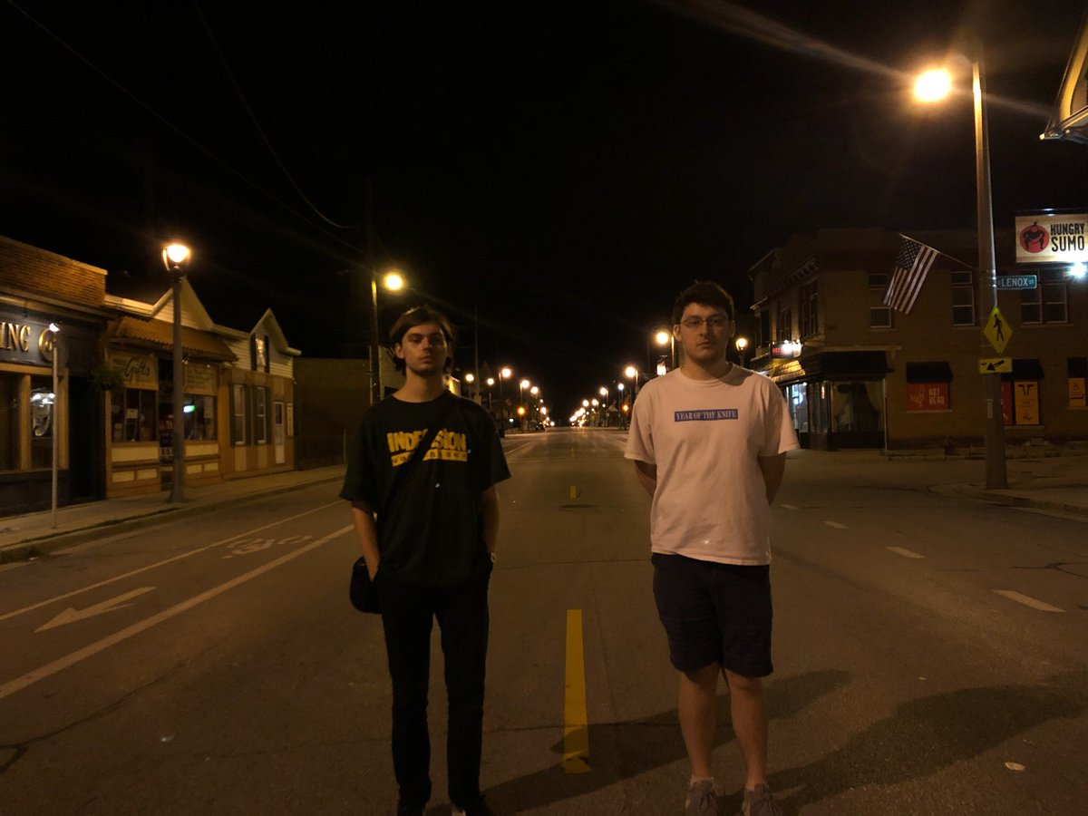 You ever just stand in the street ?