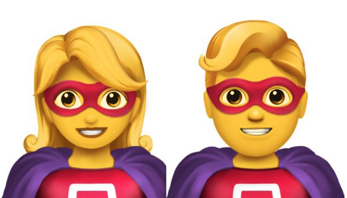 70 new emoji released for #WorldEmojiDay. Great news for ginger people, moustache-wearers and…superheroes? https://t.co/zMuyPvTACA