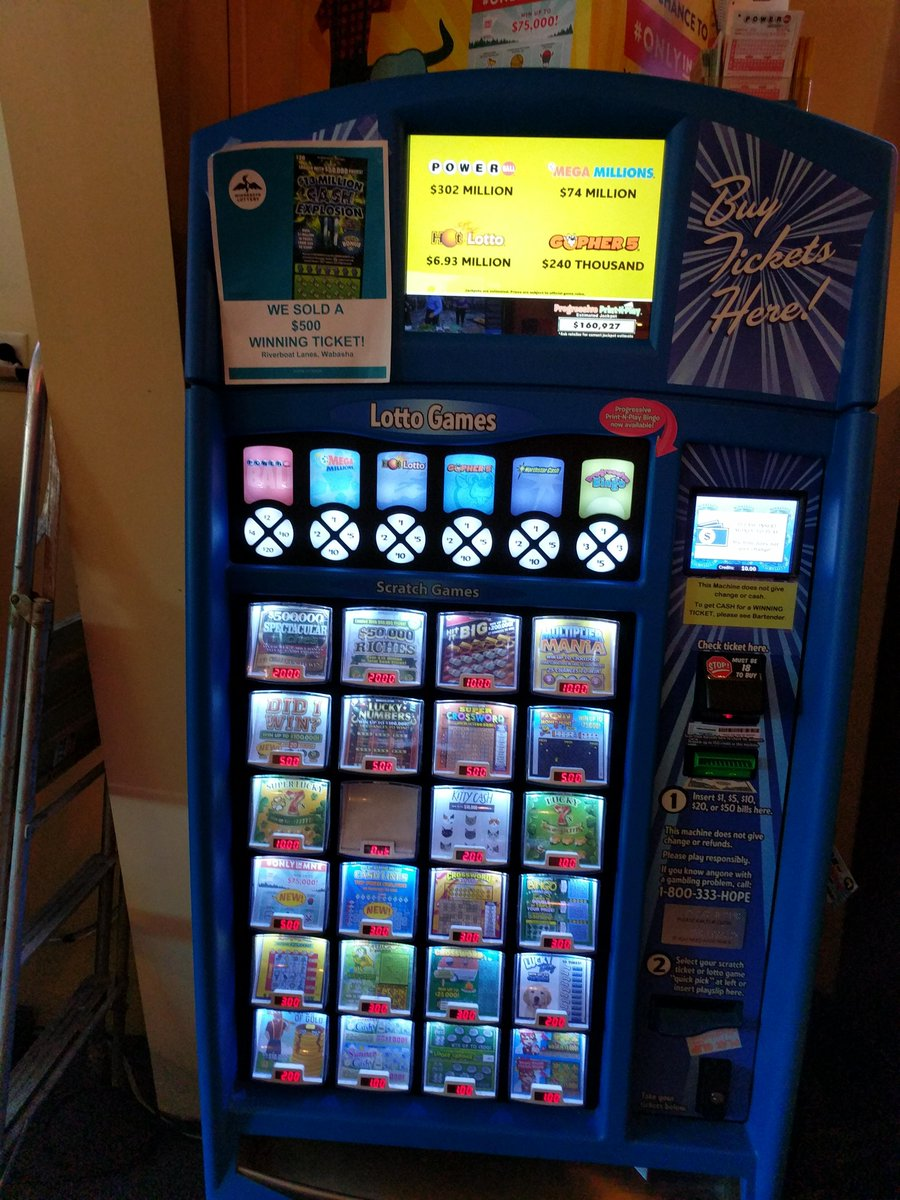 Buy your lottery tickets at Riverboat Lanes. Powerball,Mega Millions,plus 4 more. Scratch-offs, too. <br>http://pic.twitter.com/OmYdVGrc4s