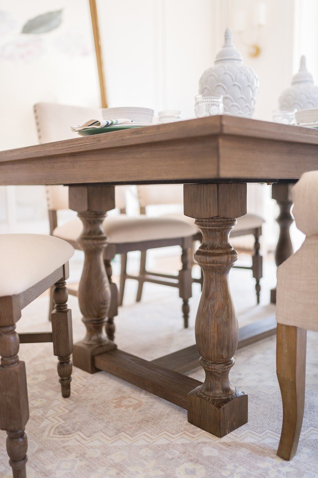 The Brick On Twitter The Meticulously Milled Legs Of The Aspen Dining Table Show Off The Skillful Craftsmanship That Went Into The Table S Construction Shop Online Today Https T Co Dutylektmu The Leslie Style