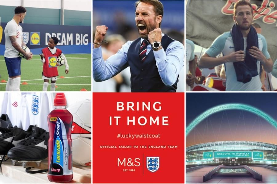 Who's in, who's out? England's sponsor line-up in the Southgate era https://t.co/pE02shA9BM