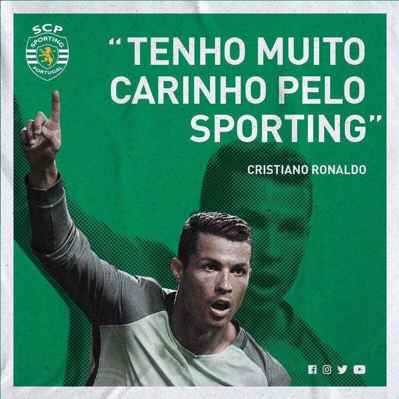 E nós por ti, @Cristiano! 😍  Boa sorte nesta tua nova etapa na @juventusfc! ⚪️⚫️  #EstamosSempreContigo