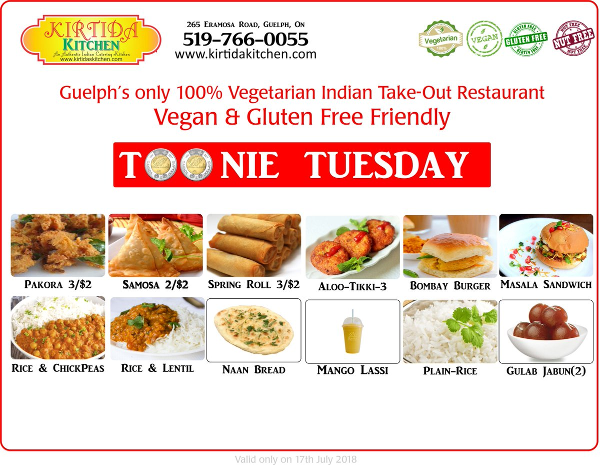 Kirtida Kitchen On Twitter Here Is The Toonie Tuesday