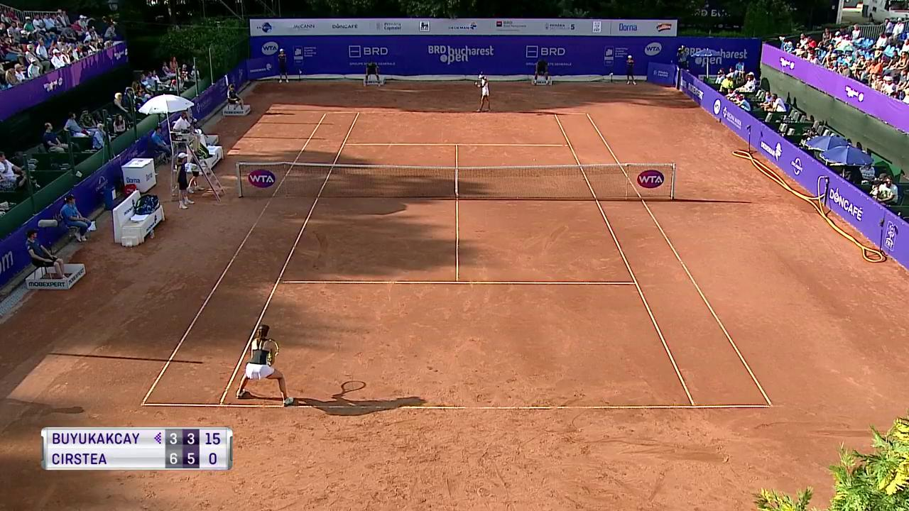 Great drop shot from @sorana_cirstea! #BucharestOpen https://t.co/EtyKnCsQsA