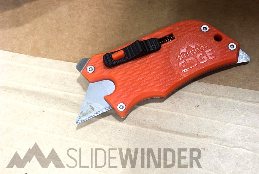 a1054e3b7c72 Pack more utility into your pocket. This upgrade to your boring old  boxcutter adds more function to an even more streamlined tool