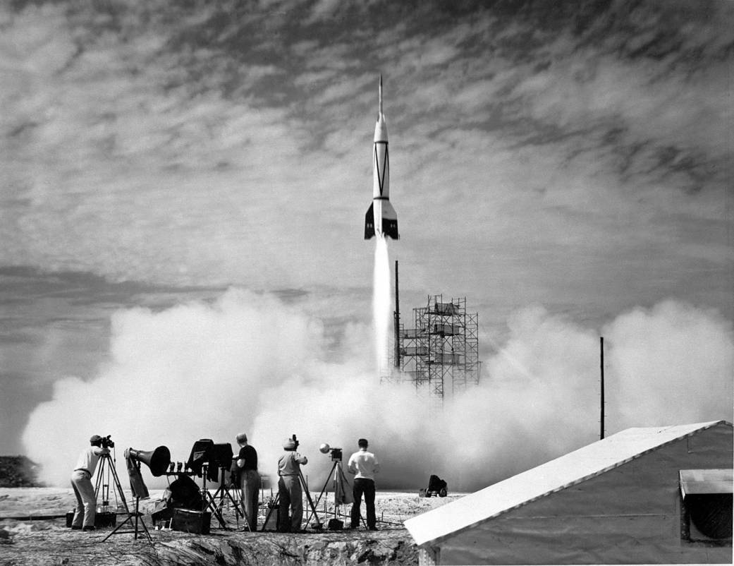 First launch from Cape Canaveral, this month 1950:              #NASA