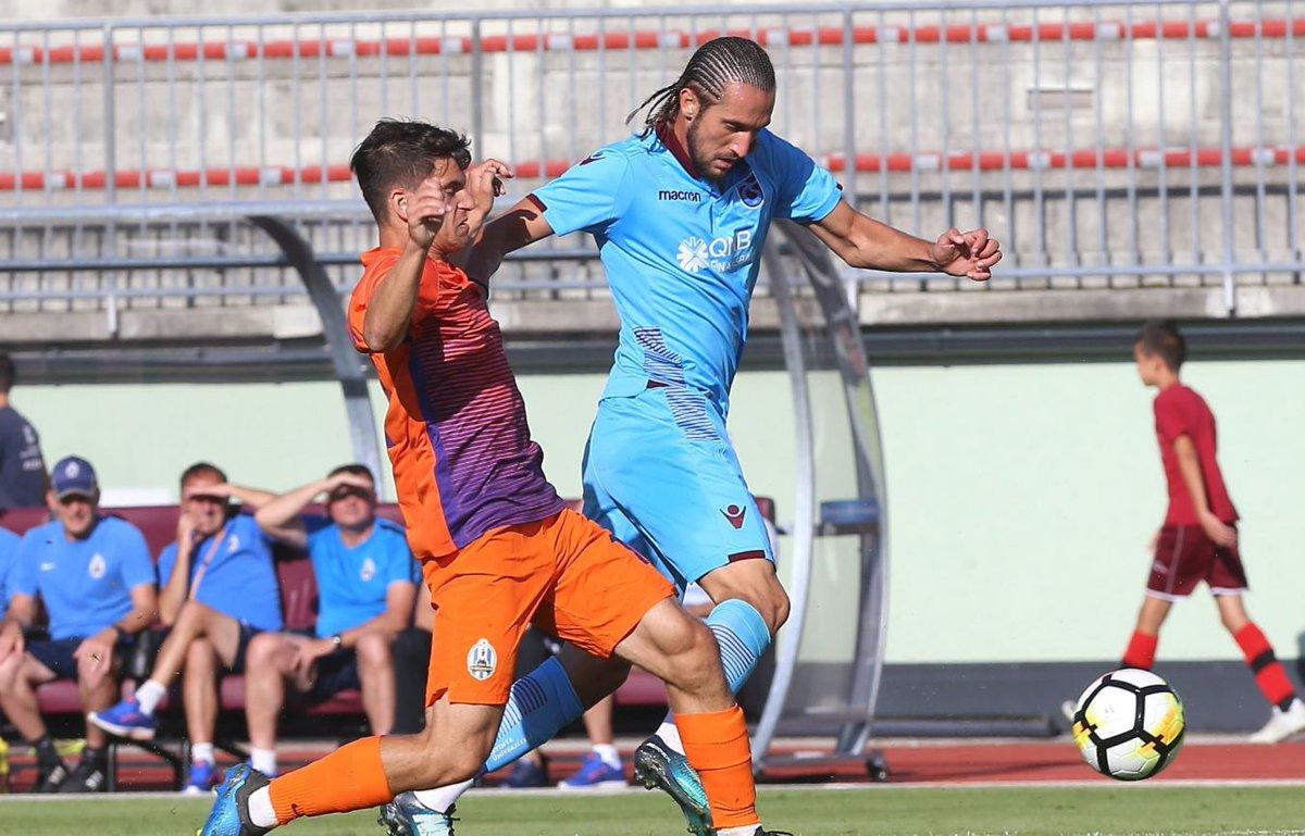 Trabzonspor tek golle güldü ntvspor.net/futbol/trabzon…